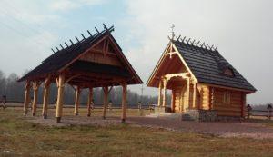 Rys 2. Gniewowo - kaplica Św. Huberta [Wikipedia]
