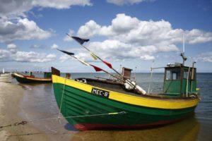 Rys. 1. Kutry rybackie w Mechelinkach [http://gminakosakowo.pl]